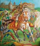 Polish hussar attack
