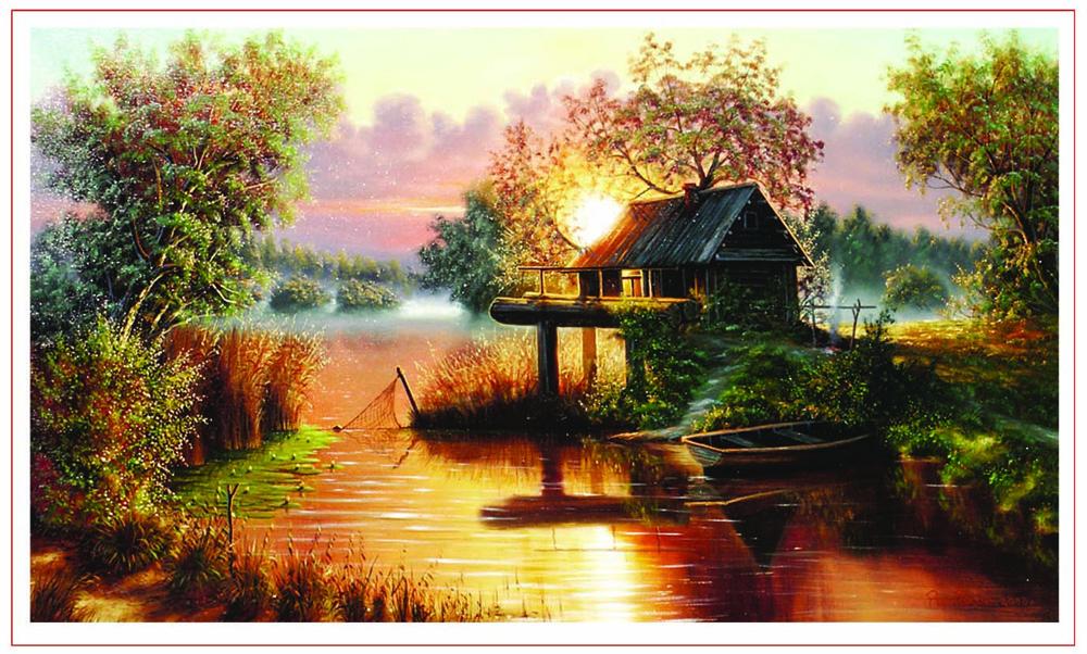 знаешь, картинка домик рыбака устанавливается