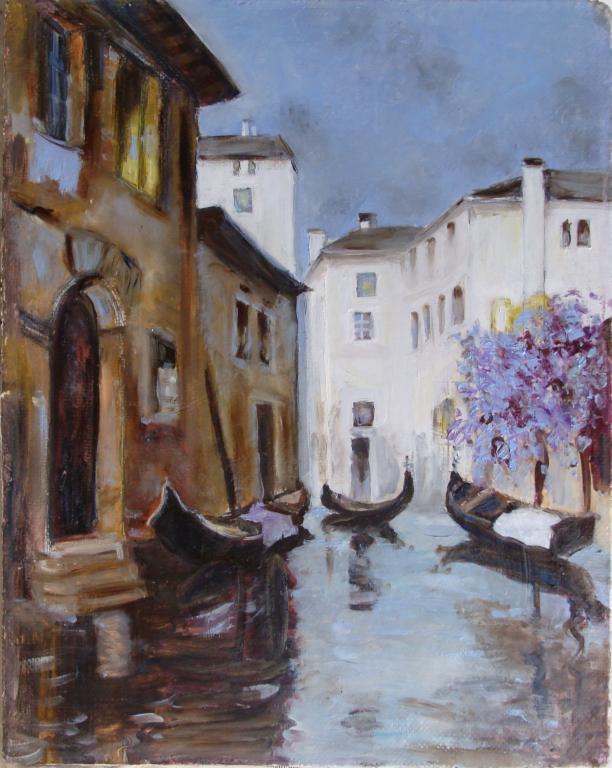 Венеция гондолы