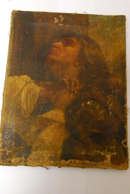Фрагмент полотна Итальянского мастера  17-18 века