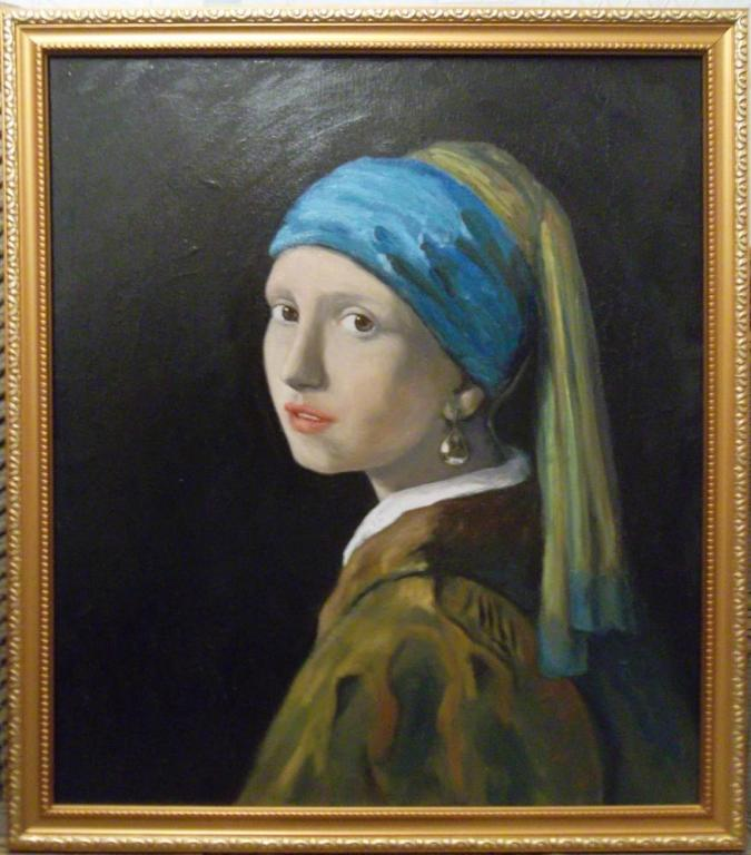 Девушка с жемчужной серёжкой (копия)