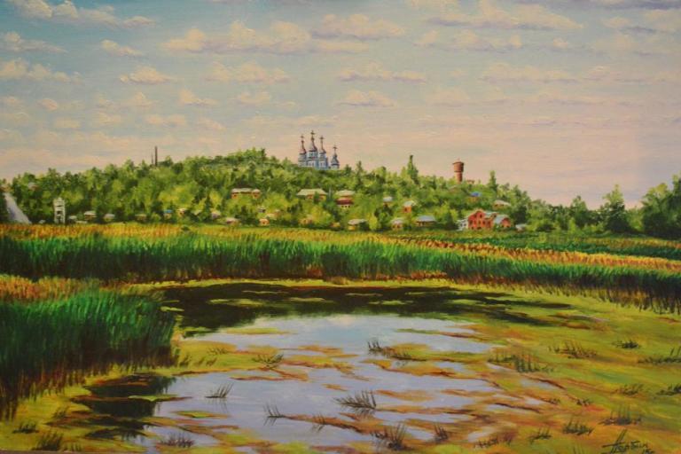 Город Ромны. Река Сула.