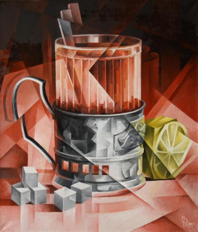 Чай. Кубофутуризм