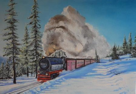 Восточный экспресс 45х65 2015. Orient Express.