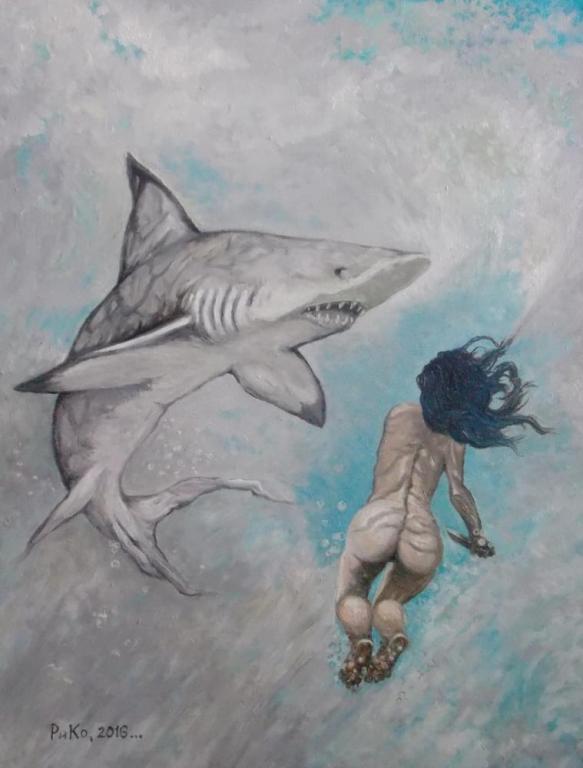 Бой под водой